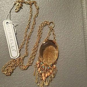 Discontinued Sorrelli Caribbean Pendant Necklace